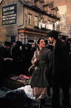 Once Upon a Time in America - Deborah and Noodles when they were young #GangsterMovie #GangsterFlick