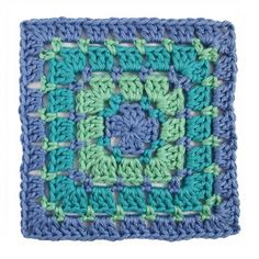 Add a new crochet stitch to your repertoire with the Block Stitch Crochet Granny Square! If you're unfamiliar with the block stitch, then take a look at this simple granny square pattern.