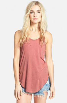 Leith Knit Racerback Tank available at #Nordstrom