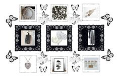 """""""B&W Gifts"""" by keepsakedesignbycmm ❤ liked on Polyvore featuring jewelry, accessories and decor"""