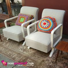 Amazing Mid Century Chairs ~ www.moregoodstuff.co.za ~ mail: info@moregoodstuff.co.za