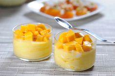 No esperes más y pon las manos a la obra para preparar este exquisito mousse de mango, es un postre muy fresco, natural y fácil de preparar.