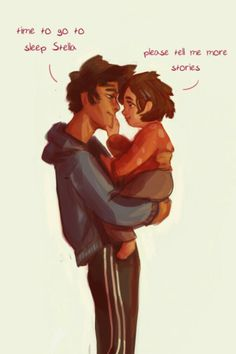 Havent seen a lot of fanart of Percy with his little sister Stella so I thought Id draw it ;)) also some extra Percys thatd Ive drawn her name is Ethel Percy Jackson Head Canon, Percy Jackson Fan Art, Percy Jackson Memes, Percy Jackson Fandom, Magnus Chase, Solangelo, Percabeth, Dibujos Percy Jackson, I Take A Nap
