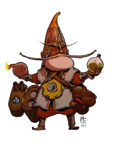 "michaelleeharris: ""Another gnome artificer! """