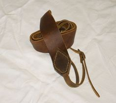 Handcrafted Leather Camera Strap by hmcurriers on Etsy, $35.00