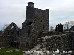 Creevylea Friary, County Leitrim. Click on the photo to read the full story on Irish heritage sites, many of which you can visit for free.