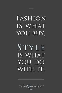 Buy your fashion wardrobe at #outletsatvburg. Then find your own personal, unique style afterwards!