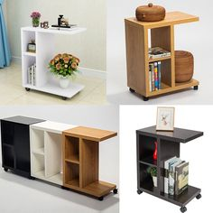 Rolling Sofa Table End Side Tray Desk With Storage Shelf 28 99 Date Saay Dec 22 2018 21 36 45 Pst It Now For Only