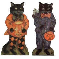HALLOWEEN CATS 2/A : Halloween  Bethany Lowe