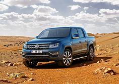 """Volkswagen Amarok z mocnym sześciocylindrowym silnikiem.Volkswagen Samochody Użytkowe wzbogaca ofertę Amaroka: ten należący do klasy premium duży pick-up będzie miał jeszcze większe """"serce"""" i jeszcze większe możliwości. Zawdzięcza to sześciocylindrowemu widlastemu silnikowi najnowszej generacji. Ma on pojemność trzech litrów, a więc o jeden litr większą niż dotychczasowa jednostka napędowa.  #vw #amarok #pickup"""