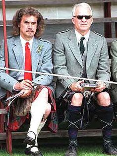 Billy Connolly & Steve Martin. Two of my favourite entertainers of all time, and great friends in real life.