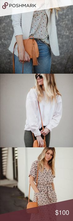 NEW with tags Hobo Nash (Whiskey) Handbag Brand new and goes with everything. Still in stores. HOBO Bags Crossbody Bags