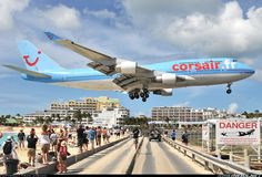 Maho Beach in St. Maarten   this beach is awesome! can't wait till june to go!  and this is not photoshopped! :)