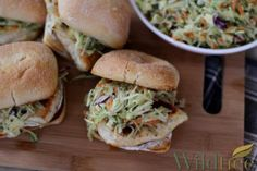 Wildtree's Chicken Piccata Sandwich with Artichoke & Caper Slaw - www.mywildtree.com/simpleandhealthy