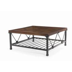"Bernhardt Hanover Square Coffee Table   18"" H x 41"" W x 41"" D"