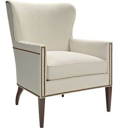 Samuel Wing Chair from the Winterthur Country Estate collection by Hickory Chair Furniture Co.