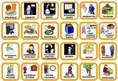 pienet kortit Early Education, Early Childhood Education, Special Education, Teaching Aids, Teaching Kindergarten, Preschool, Behavior Management, Classroom Management, Learn Finnish