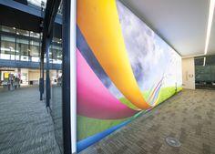 Signbox: Astellas Pharma headquarters Digital Prints, Interior Decorating, Fair Grounds, World, Building, Travel, Printing, Graphics, News