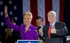After months of Trump recruitment, Cindy McCain is reportedly headed for a job at the State Dept.  So far, trump has hired McConnell's wife, Newt Gingrich's wife and Huckabee's daughter.