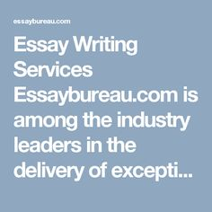 Essay Writing Services Essaybureau.com is among the industry leaders in the delivery of exceptional custom papers as well as research support at very competitive prices. In this case, we have all it takes to ensure that you as our customer gets the satisfaction you need regarding our services and help. https://essaybureau.com/blog/advantages-disadvantages-term-world-cinema/ #Essay_writing_Services_Australia #Custom_Essay_Writing_Services_Australia #essay_writing_australia