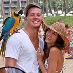 Channing and his wife Jenna Dewan Tatum