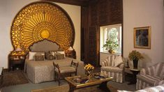 Egyptian Style Bedrooms | ... Egyptian designs are important elements of Egyptian interior style