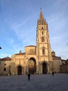 Catedral San Salvador de Oviedo en Oviedo, Asturias