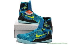 "Masculino Turquoise Nike Kobe 9 Elite 641714-400 ""Perspective"""