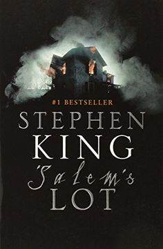 My first Stephen King book. Read when I was in high school and babysitting. My sister and I became addicts and read a lot of his books. This also started me on my love for vampires. I Love Books, Great Books, Books To Read, My Books, Reading Books, Stephen King Salem, Stephen King Books, Salem Lot, Steven King