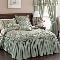 Wedding Ring Tufted Chenille Bedspread Bedspreads Relax into the