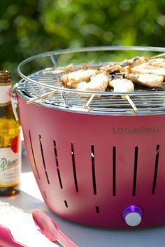 Table top portable BBQ for small gardens image @cuckoolandcom Small Garden Images, Portable Bbq, Small Gardens, Kitchen Appliances, Top, Style, Portable Bbq Grill, Diy Kitchen Appliances, Swag