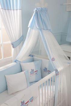 Adorable for a boy :) Baby Room Design, Home Room Design, Girl Cribs, Baby Cribs, Baby Bedding Sets, Crib Bedding, Baby Bedroom, Baby Room Decor, Bunk Bed Designs