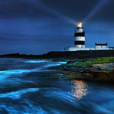 Lighthouse - at night