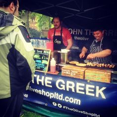 ‪#StreetFood isn't a case study, it's a lifestyle. Curious? Come down to @bluecollarfood in #Reading and get to know it..!!‬  ‪#JTG #Souvlaki  #Greece #Mmm #NaturalFlavours #Wed‬