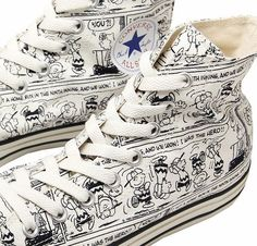Peanuts All Stars Converse   @Gillian Lanyon Veronica Friedman Watson  Fergus I so need these!
