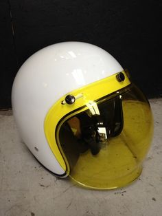 helmet w bubble shield this is the look rinsing on the lambretta silver special