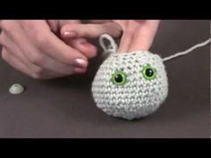 """""""How to Install Safety Eyes"""" video from Knit Picks"""