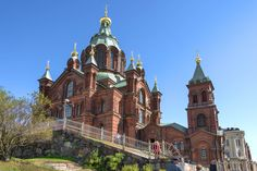 Photograph La Catedral Uspenski by Miguel Nieto Galisteo on Assumption Cathedral - the main Orthodox church in Helsinki and the largest Orthodox church in northern Europe. Helsinki, Maine, Cathedral, Europe, Architecture, Photography, Finland, Grandchildren, Exercise
