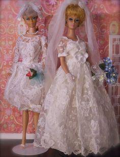 c2a69542c4 Swirl Ponytail Barbie   Bubble Cut Barbie Brides Suknie Ślubne