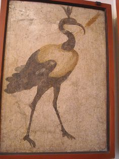 Ibis - from the Temple of Isis at Pompeii - Naples, Archaeological Museum