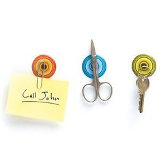 Magnetic Stickers: These cool colorful magnetic stickers can be used in kitchen, shower, study or anywhere else in the house or office. These are easy to apply on any surface and can be removed easily.