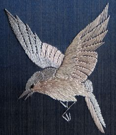 Hummingbird pattern - Chinese Screen