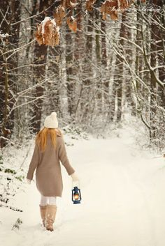 .walk with me in the snow and on a journey we shall go.