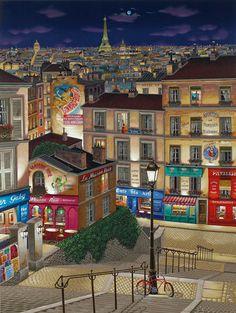 LIUDMILA KONDAKOVA, Paris Ville Lumière