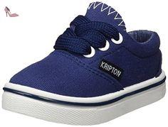 Kripton-Sneaker Halley Bleu Royal Taille 30 - Chaussures kripton  (*Partner-Link) | Chaussures KRIPTON | Pinterest
