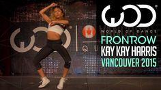 "Kaelynn ""KK"" Harris   FRONTROW   World of Dance Vancouver 2015 #WODVAN2015"