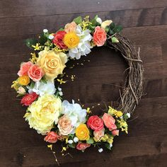 Wreaths for Front Door Front Door Wreath Spring Wreath