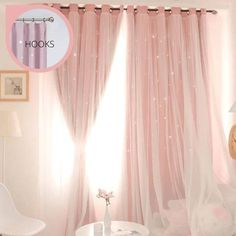 (1) Oslo Star Curtain – PINK GOLD DESIGN How To Sleep Faster, How To Get Sleep, Sleep Better, Pink Room, Pink Gold Bedroom, Light Pink Bedrooms, Pink Bedroom Decor, Dream Bedroom, Bedroom Ideas
