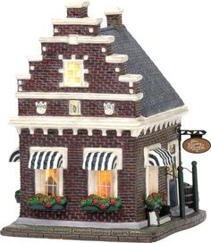 Villas, Seaside Village, Christmas Villages, Winter Cards, Gingerbread, Miniature, Objects, Display, Holiday Decor