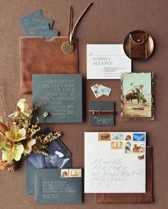 Gorgeous invitation by the incredibly talented and bff @ambermoondesign for the @lauriearons #weddingplannermasterclass in Montana #iphonepic by josevilla